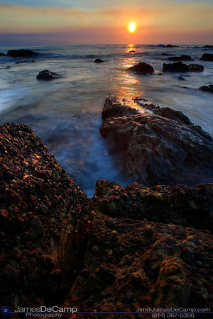 Sunset - Pescadero, CA - Misc. California coastline photos (© James D. DeCamp | http://www.JamesDeCamp.com | 614-367-6366)