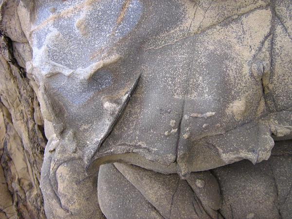 Rock Textures along the Northern Big Sur Coastline (© James D. DeCamp   http://www.JamesDeCamp.com   614-367-6366)