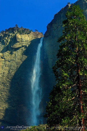 Yosemite Valley - Upper Yosemite Falls (© James D. DeCamp | http://www.JamesDeCamp.com | 614-367-6366)