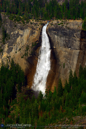 Overlooking Yosemite Valley - Vernal Falls (© James D. DeCamp | http://www.JamesDeCamp.com | 614-367-6366)