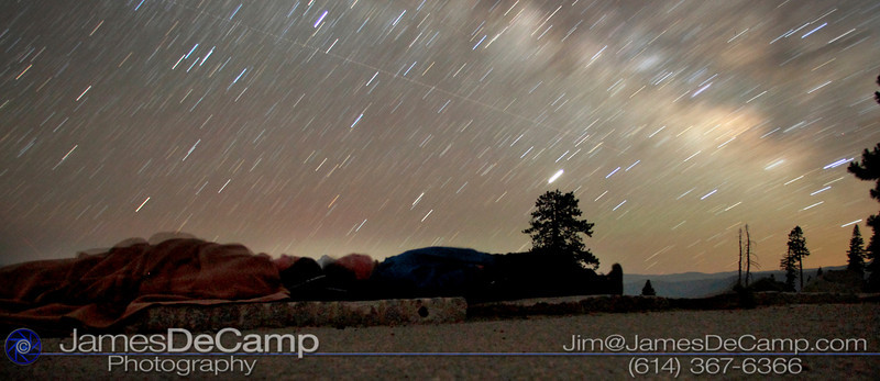 Under the stars at Yosemite Valley (© James D. DeCamp | http://www.JamesDeCamp.com | 614-367-6366)