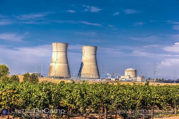 The Rancho Seco Nuclear Generating Station is a decommissioned nuclear power plant built by the Sacramento Municipal Utility District (SMUD) in Herald, California photographed Sunday August 21, 2016. (© James D. DeCamp   http://www.JamesDeCamp.com   614-367-6366)