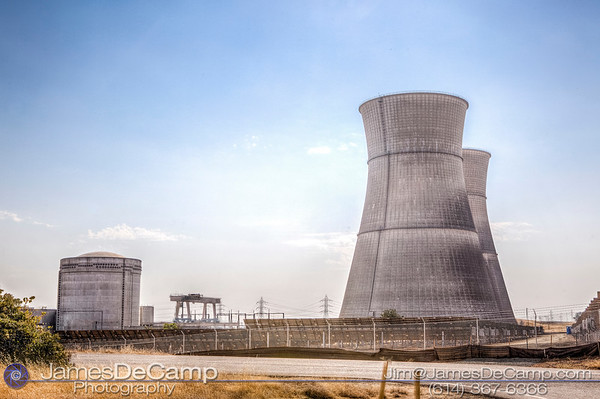 The Rancho Seco Nuclear Generating Station is a decommissioned nuclear power plant built by the Sacramento Municipal Utility District (SMUD) in Herald, California photographed Sunday August 21, 2016. (© James D. DeCamp | http://www.JamesDeCamp.com | 614-367-6366)