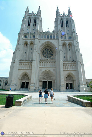 National Cathedral, Washington DC / Annapolis Trip - July, 2002.  (© James D. DeCamp | http://www.JamesDeCamp.com | 614-367-6366)