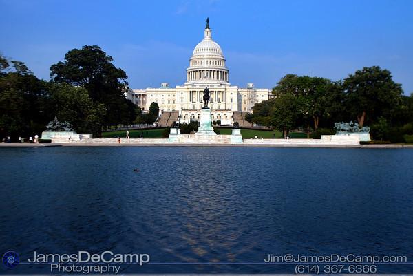 Capitol Building, Washington DC / Annapolis Trip - July, 2002.  (© James D. DeCamp   http://www.JamesDeCamp.com   614-367-6366)