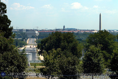 Arlington National Cemetery, Washington DC / Annapolis Trip - July, 2002.  (© James D. DeCamp   http://www.JamesDeCamp.com   614-367-6366)