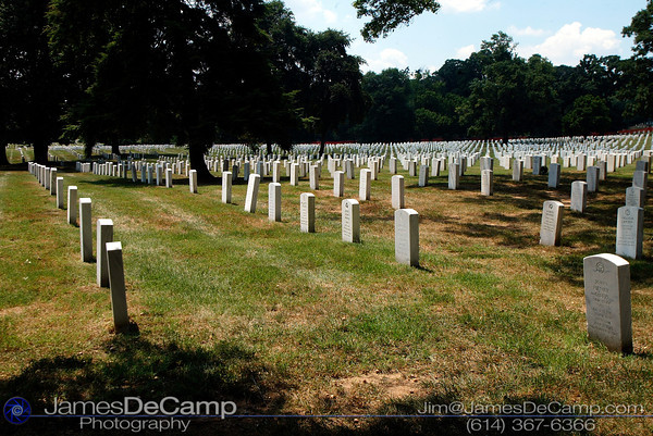Arlington National Cemetery, Washington DC / Annapolis Trip - July, 2002.  (© James D. DeCamp | http://www.JamesDeCamp.com | 614-367-6366)
