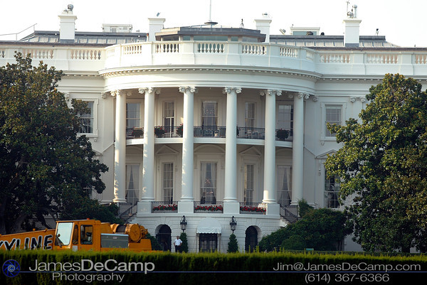Whitehouse, Washington DC / Annapolis Trip - July, 2002.  (© James D. DeCamp | http://www.JamesDeCamp.com | 614-367-6366)