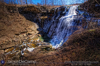 Images from the Brandywine Falls in the Cuyahoga Valley National Park located in the Akron Cleveland Ohio area photographed Tuesday March 29, 2011. (© James D. DeCamp | http://www.JamesDeCamp.com | 614-367-6366)