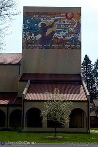 Sites & scenes in and around Lourdes College in Sylvania, Ohio Sunday, April 18, 2004.  (© James D. DeCamp | http://www.JamesDeCamp.com | 614-367-6366)
