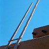 Taos Pueblo Ladder.