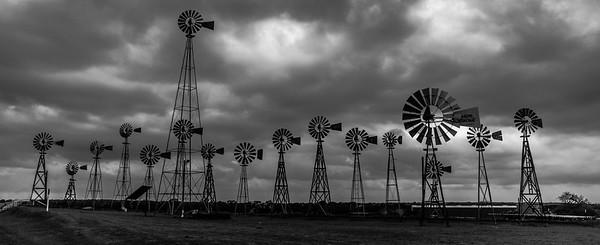 Windmills in Texs