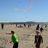 Flying Kites.