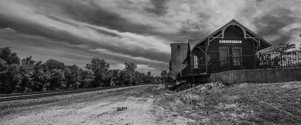 Old train station, Blackwater Missouri