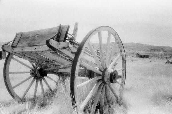 Bodie Wagon. Bodie State Park