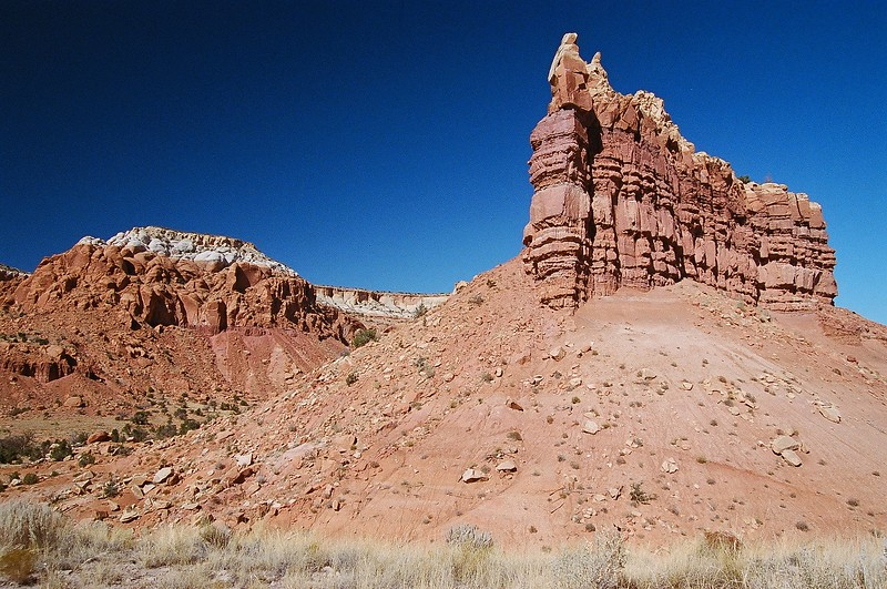 Wind, Sand and Stone near Ghost Ranch New Mexico