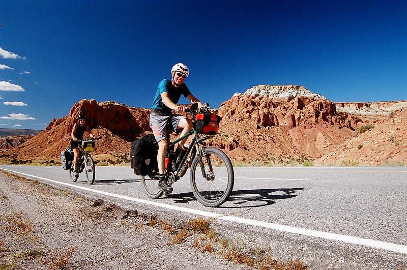 Biking New Mexico