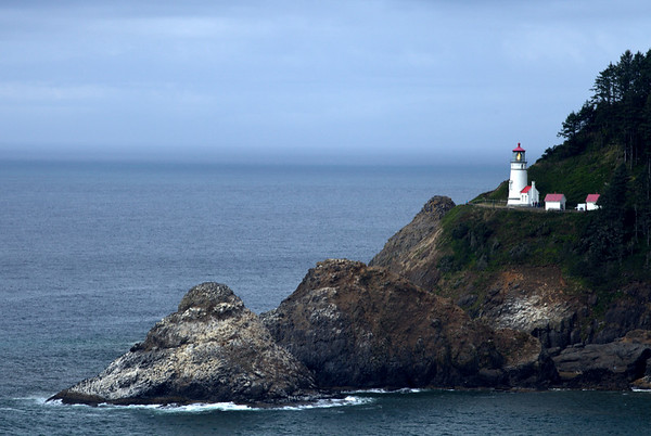 Heceta Head Lighthouse.