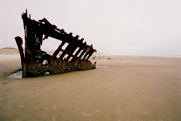 Shipwreck - Peter Iredale.