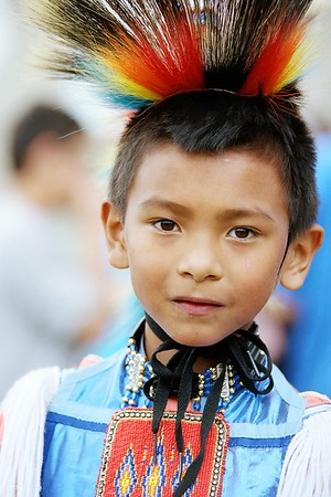 Native American Child.
