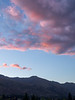 Pink Sunset over Mountains