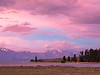 Lake Tekapo Bathed in Pink Evening Light
