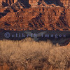 On Highway 9 on the way to Zion, an early morning view of what Nature can do to sandstone.