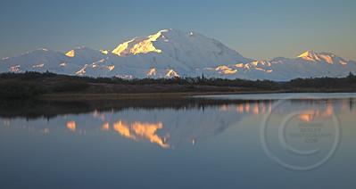 Denali Alpenglow Sunrise