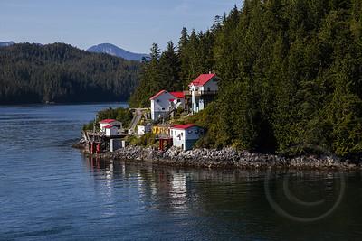 Alaskan Fishing Village