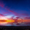 pano sunset antelope