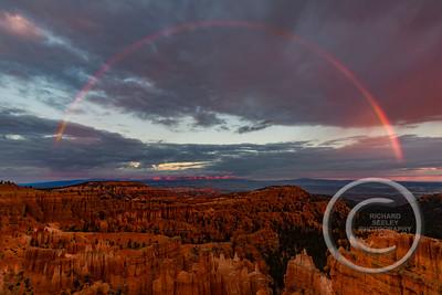 Sunset Rainbow at Sunset Point