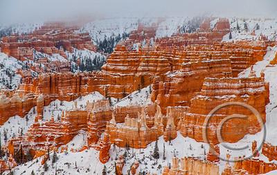 Snow Striations