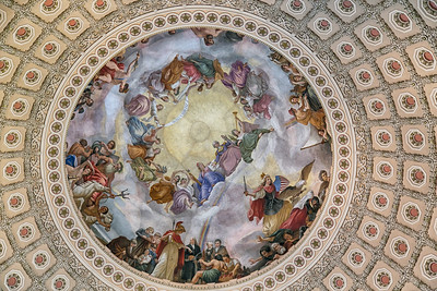 Apotheosis of Washington in the U.S. Capitol