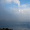 Smokestacks and Fog