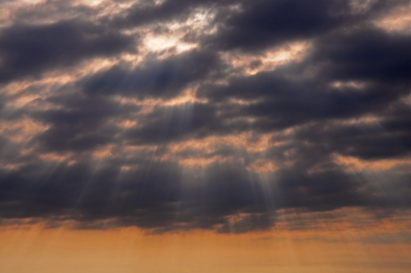 Morning sun rays - Virginia - 2009
