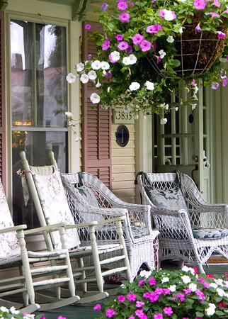 Porch at the Inn