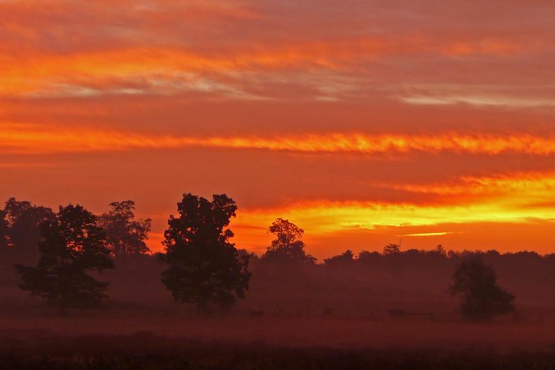 Sunrise in West Virginia - 2008