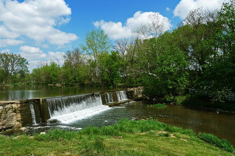Mill Creek dam near Mascot Roller Mills - Lancaster County, PA - 2012