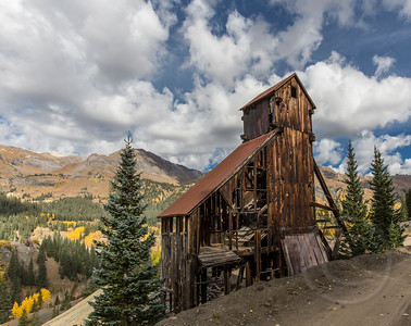 Yankee girl Mine Ruins