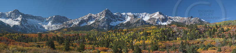 Mount Sneffels Range Fall Foliage