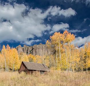 Cabin at Base of Pinnacles