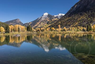 Sheep Mountain Reflection in Lizard Lake