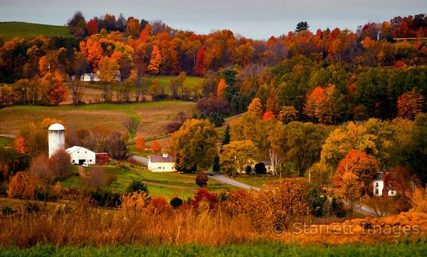 Upstate New York farm house