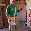A guide, whose ancestors lived on Shackleford Bank, relates the history of the Fort.