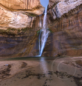 Lower Calf Creek Falls Reflection