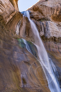 Lower Calf Creek Falls Side View
