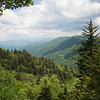 View from Newfound Gap in the Smoky Mountains