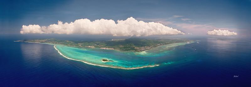 Saipan Tinian Clouds 40x14