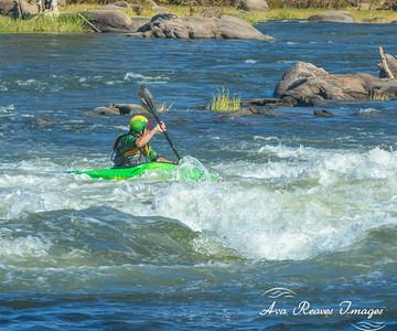 Kayaking The Rapids