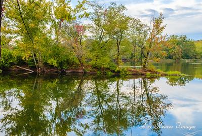 Reflections At Huguenot Flatwater